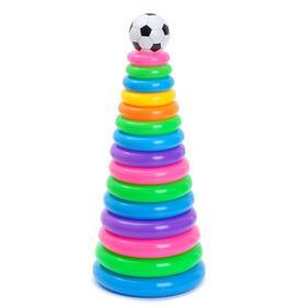 Пирамидка «Футбол», 15 колец