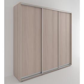 Шкаф-купе «Акцент-Сим Д», 1500 × 600 × 2310 мм, ЛДСП, цвет ясень шимо светлый