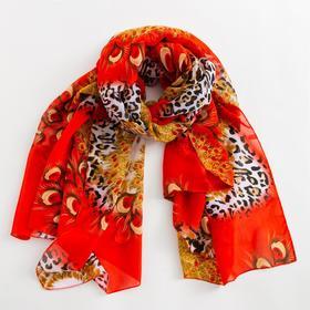 Парео, цвет красный, размер 95х155 см Ош