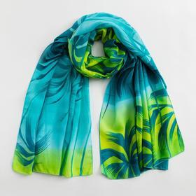 Парео текстильное BS 1643_P(10-2) цвет зелёный , р-р 95х155 Ош