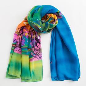 Парео текстильное BS 1643_P(11-2) цвет разноцветный, р-р 95х155 Ош