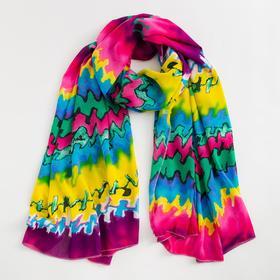 Парео текстильное BS 1643_P(15-2) цвет разноцветный, р-р 95х155 Ош