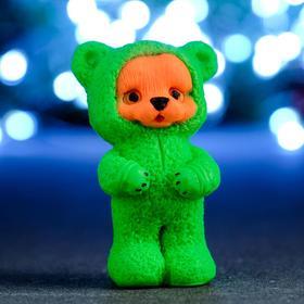 """Мыло фигурное """"Тигрёнок в зелёной пижаме"""" 50гр"""