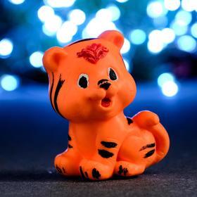 "Мыло фигурное ""Тигрёнок"" оранжевый, 80гр"