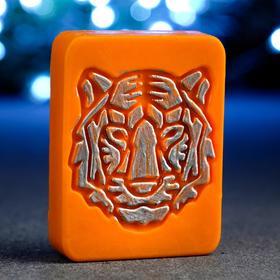 """Мыло фигурное """"Тигр Гранд"""" оранжевый, 90гр"""
