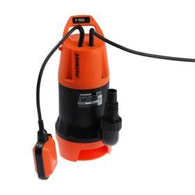 Насос дренажный PATRIOT F 1100, для гряз. воды, 1120 Вт, напор 10 м, 262 л/мин, кабель 10 м