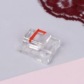 Лапка для швейных машин, прямострочная для шитья по кругу