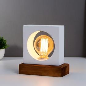 Bulb desktop 2070 / 1NWT E27 60W white 18x18x10 cm