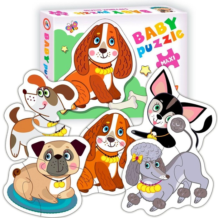 Пазл Baby puzzle «Собачки»