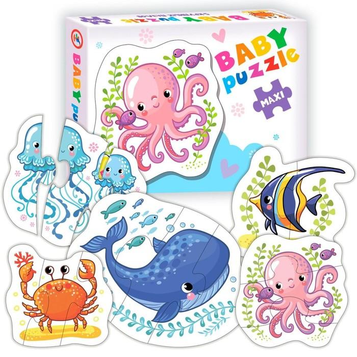 Пазл Baby puzzle «Морские животные»