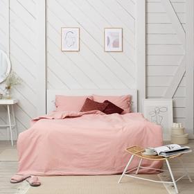 Постельное белье Этель евро «Розовое небо» 200*217, 180*200*25, 50*70-2 шт