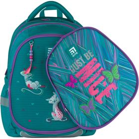 Рюкзак школьный, Kite 700 (2p), 38 х 28 х 16 см, эргономичная спинка, с крышкой, Adorable