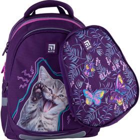 Рюкзак школьный, Kite 700 (2p), 38 х 28 х 16 см, эргономичная спинка, с дополнительной крышкой, Inspiration
