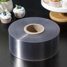 Лента бордюрная для обтяжки тортов 200мкр*100мм*200м