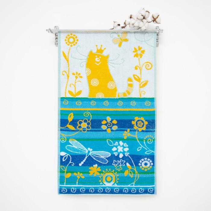 """Полотенце махровое Авангард """"Моей принцессе"""", размер 50х100 см, 420 гр/м2"""