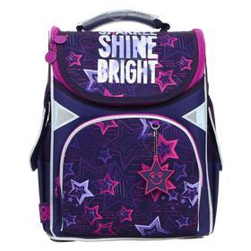 Ранец Стандарт GoPack 5001S, 34 х 26 х 13 см, Shine bright