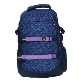 Рюкзак молодёжный эргономичная спинка, Kite 2576, 44 х 30 х 21, отделение для ноутбука, паттерн