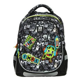 Рюкзак школьный, Kite 700, 38 х 28 х 16 см, эргономичная спинка, Swag
