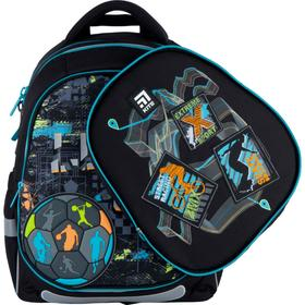 Рюкзак школьный, Kite 700 (2p), 38 х 28 х 16 см, эргономичная спинка, с дополнительной крышкой, Let's go