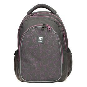 Рюкзак школьный, Kite 8001, 40 х 29 х 17 см, эргономичная спинка, серый