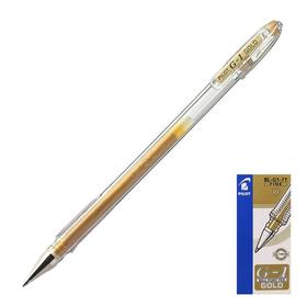 Ручка гелевая Pilot G1 0.7 мм золотая BL-G1-7T (GD)