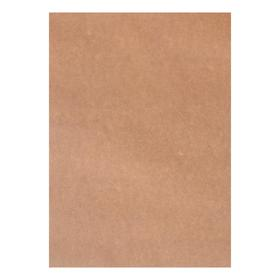 Набор Крафт Бумага 210*297 мм, А4, 78 г/м², 100 л, коричневый