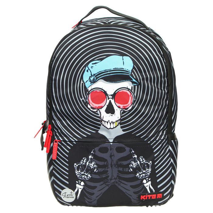 Рюкзак молодёжный эргономичная спинка, Kite 2569, 43.5 х 29.5 х 15, Сity, чёрный - фото 838221