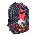 Рюкзак молодёжный эргономичная спинка, Kite 2569, 43.5 х 29.5 х 15, Сity, чёрный/красный - фото 838248
