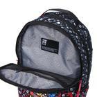 Рюкзак молодёжный эргономичная спинка, Kite 2569, 43.5 х 29.5 х 15, Сity, чёрный/красный - фото 838257