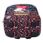 Рюкзак молодёжный эргономичная спинка, Kite 2569, 43.5 х 29.5 х 15, Сity, чёрный/красный - фото 838252