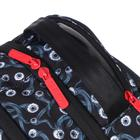 Рюкзак молодёжный эргономичная спинка, Kite 2569, 43.5 х 29.5 х 15, Сity, чёрный/красный - фото 838254