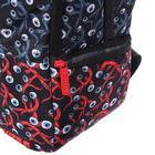 Рюкзак молодёжный эргономичная спинка, Kite 2569, 43.5 х 29.5 х 15, Сity, чёрный/красный - фото 838255