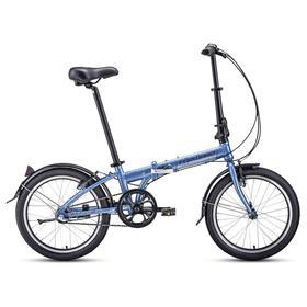 """Велосипед 20"""" Forward Enigma 3.0, 2021, цвет сиреневый/коричневый, размер 11"""""""