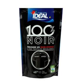 Краска для восстановления цвета одежды и тканей IDEAL Back to Black, Чёрная, 400 г