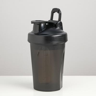 Шейкер 400 мл, чёрный