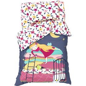 Постельное белье Этель 1,5 сп Sleeping princess 143х215 см, 150х214 см, 50х70 см -1 шт, 100% хл, бязь