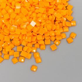 """Страз неклеевой """"Zlatka"""" 2,3 мм, 10 гр, № 0019 светло-оранжевый"""