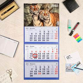 """Календарь квартальный, трио """"Символ года - 119"""" 2022 год, 31 х 69 см"""