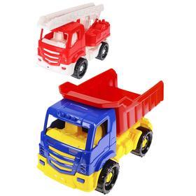 A set of dump truck