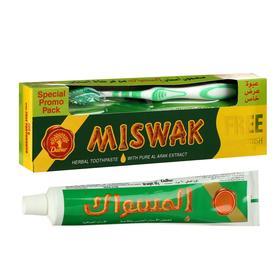 Набор Dabur Miswak Herbal зубная паста 190 г + зубная щётка