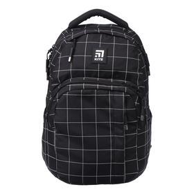 Рюкзак молодёжный эргономичная спинка, Kite 2578, 44 х 30 х 21, отделение для ноутбука, чёрный