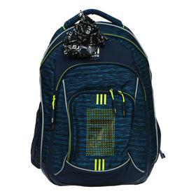 Рюкзак молодёжный эргономичная спинка, Kite 814, 44 х 31 х 15, синий