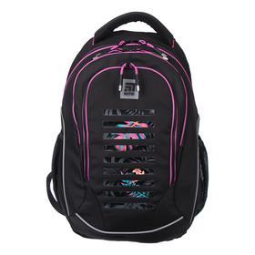 Рюкзак молодёжный эргономичная спинка, Kite 816, 45 х 32 х 14, чёрный