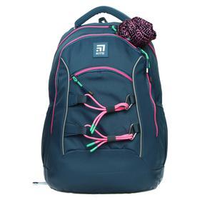 Рюкзак школьный, Kite 813, 40 х 28 х 16 см, эргономичная спинка, серый