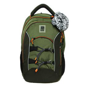 Рюкзак школьный, Kite 813, 40 х 28 х 16 см, эргономичная спинка, хаки