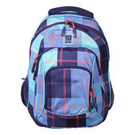 Рюкзак школьный, Kite 814, 40 х 30 х 15 см, эргономичная спинка, фиолетовый/голубой