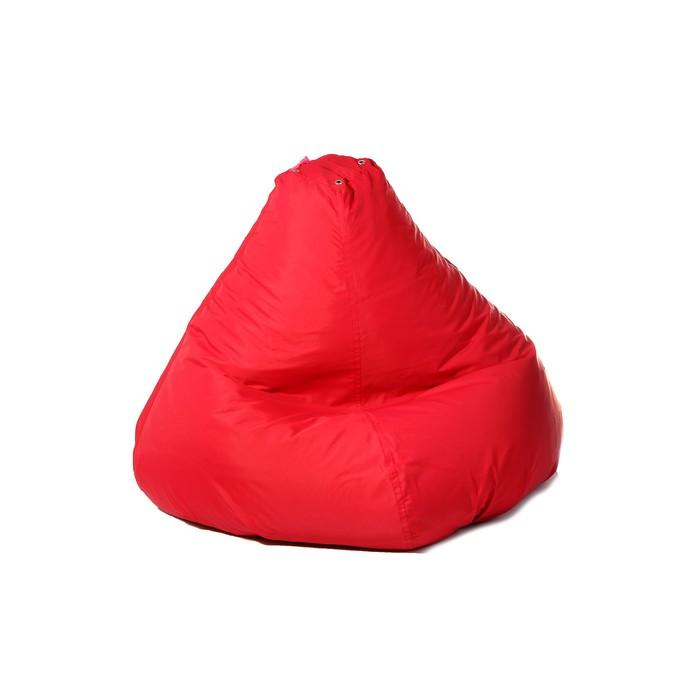 """Кресло-мешок """"Малыш"""", d70/h80, цвет красный"""