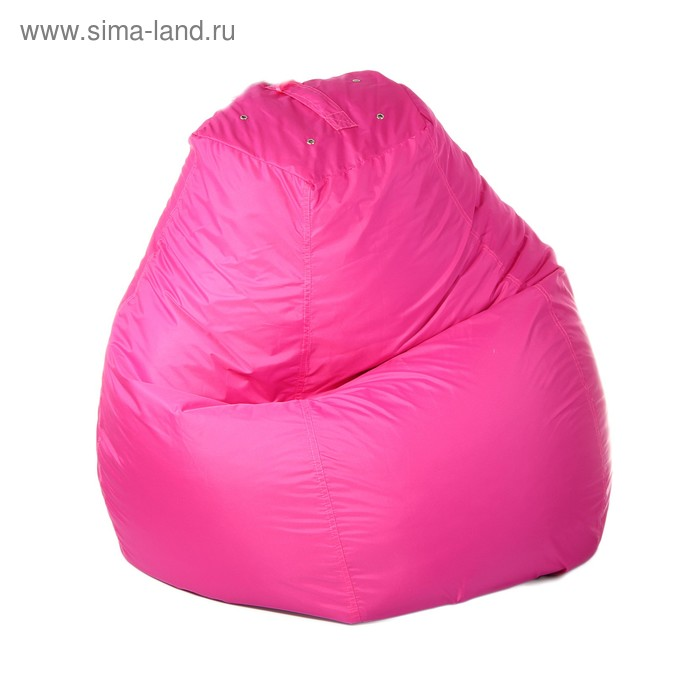 Кресло-мешок пятигранное, d82/h110, цвет розовый