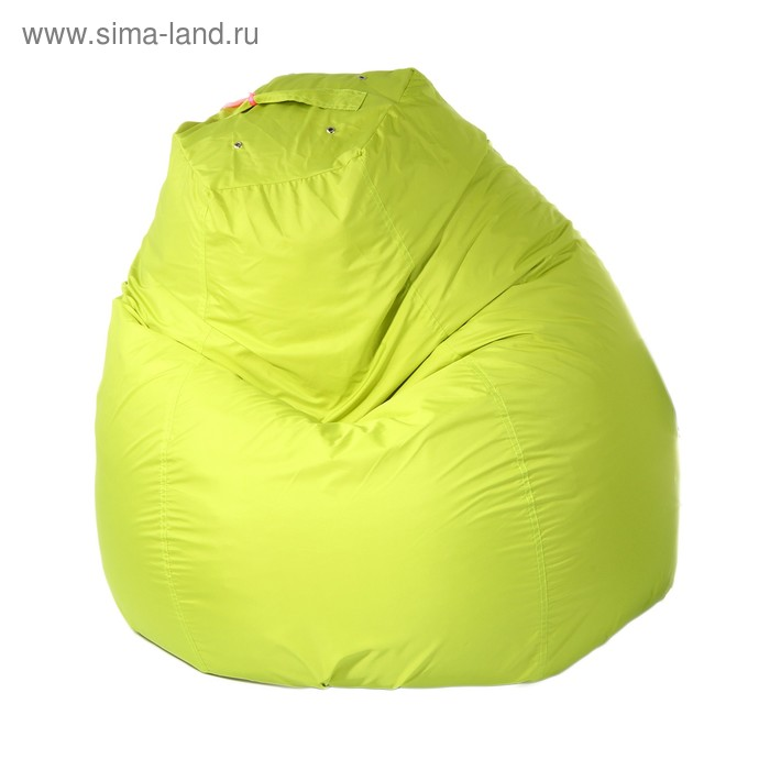 Кресло-мешок пятигранное, d82/h110, цвет салатовый