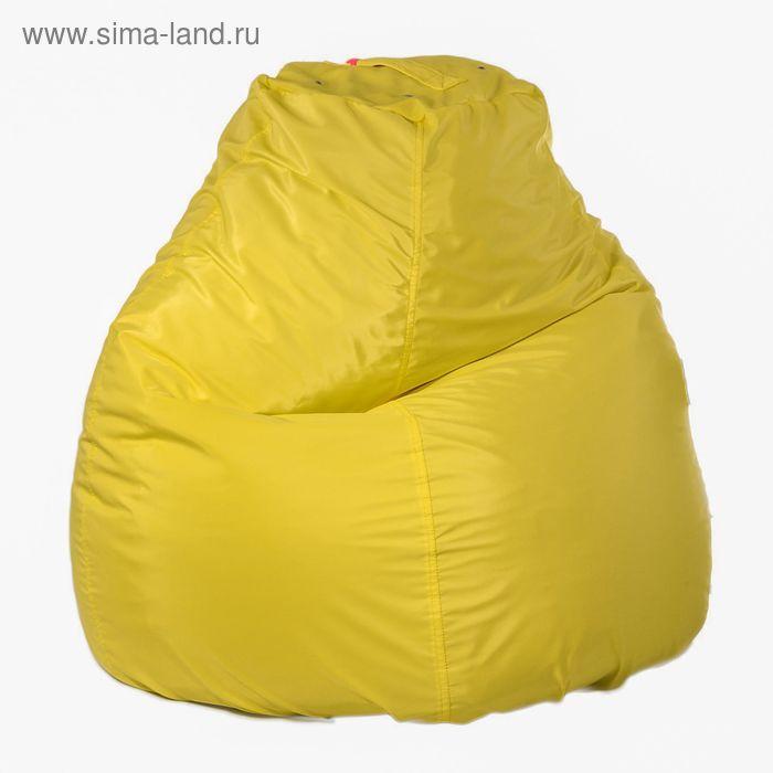 Кресло-мешок пятигранный, d82/h110, цвет Jordan-bonding, 14 желтый